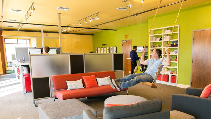 Photo of CouponSherpa Office Swing