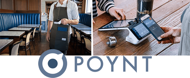 Collage of Poynt payment options