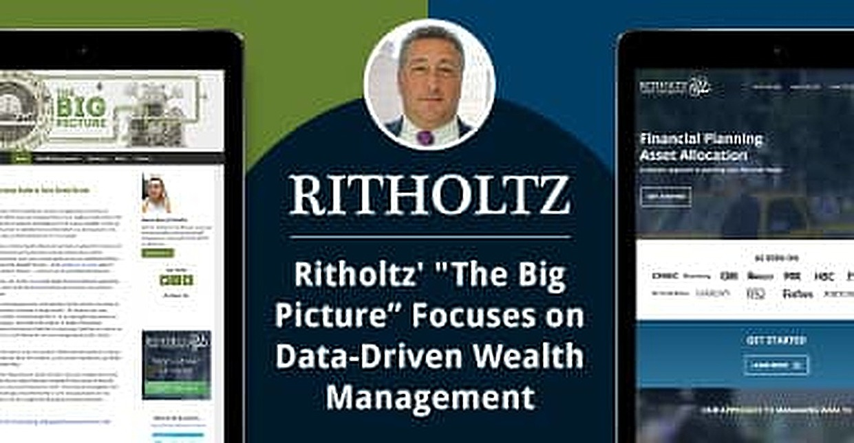 "Barry Ritholtz Focuses on the ""Big Picture"" With Data-Driven Wealth Management Tools"