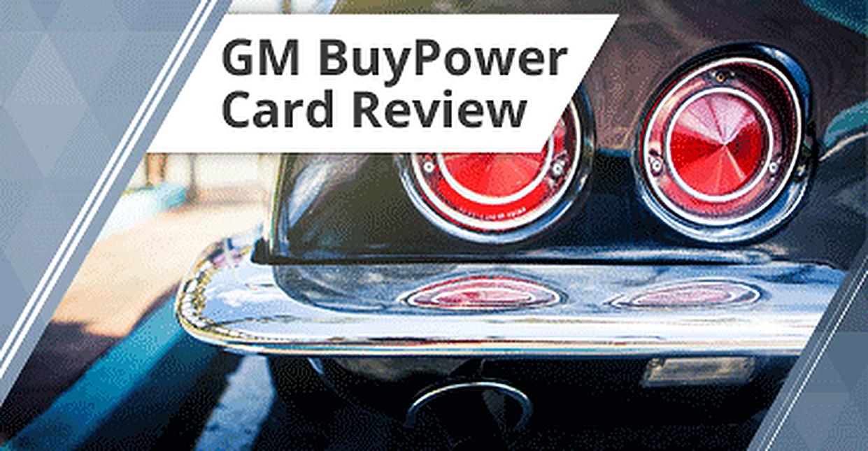 GM Credit Card Review (Benefits, Rebates, Rewards & Application)