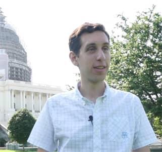 Photo of GovTrack Founder Joshua Tauberer