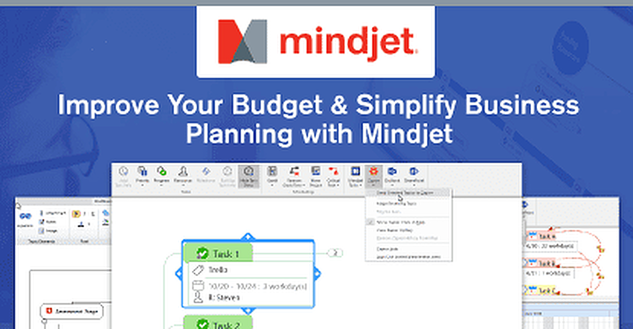 How Mindjet™ Mind Mapping Software Can Help You Improve Your Budget, Manage Projects & Simplify Business Planning