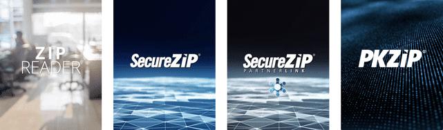 Screenshot of PKWARE ZIP Products