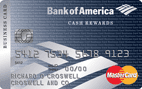bank of america cash rewards for business