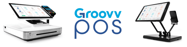 Screenshot of Groovv point-of-sale devices