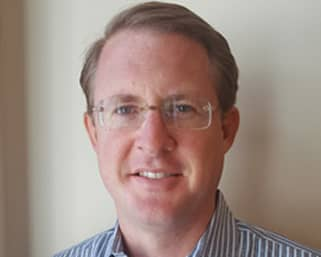 Photo of Aaron West, President of MoneyShow