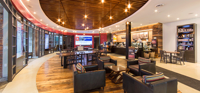 Photo of Back Bay Capital One Café