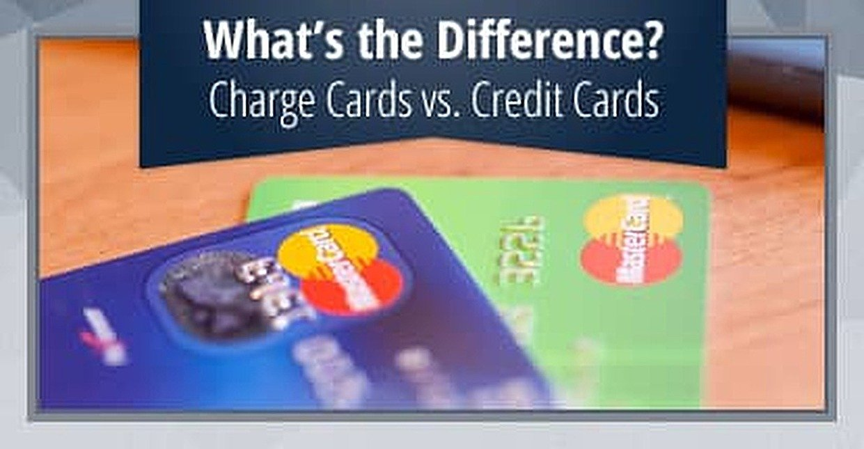 3 Key Differences — Charge Card vs. Credit Card