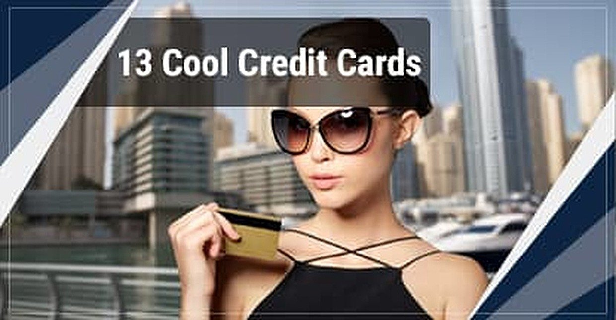 13 Cool Credit Cards Every Wallet Wants (2018's Best Designs)