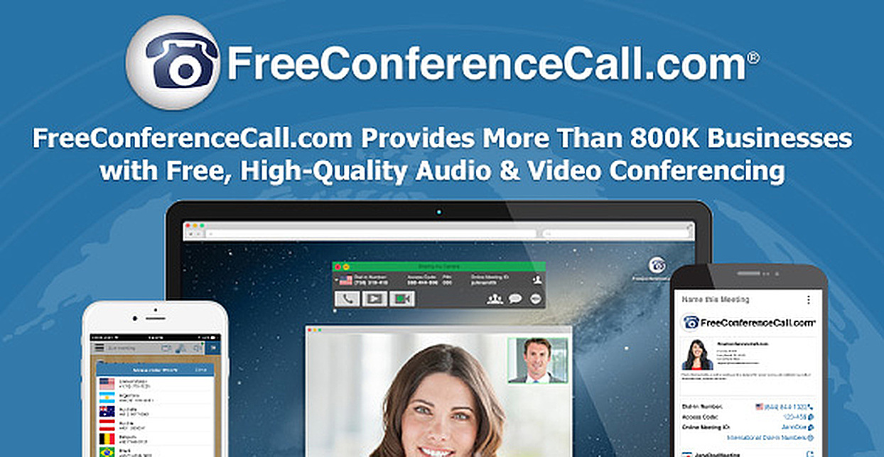 FreeConferenceCall.com Provides More Than 800K Businesses with Free, High-Quality Audio & Video Conferencing