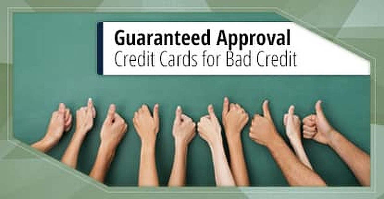 Bad Credit Credit Cards >> 9 Guaranteed Approval Credit Cards For Bad Credit 2019