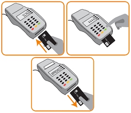 Graphic of Chip-and-Pin Card Use