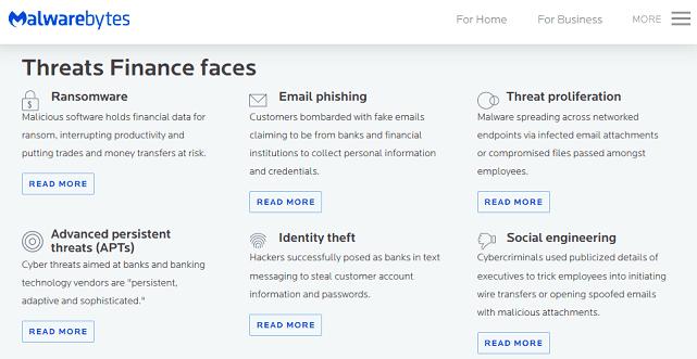 Screenshot of Malwarebytes Threats List