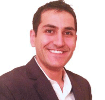 Portrait of Toufan Rahimpour, Chief Operations Officer at Logoworks