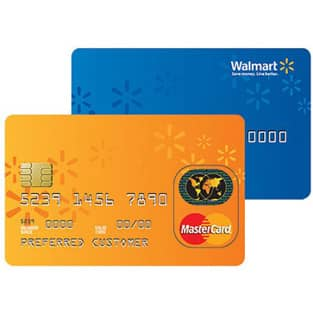 Photo of Walmart Credit Card and Walmart MasterCard