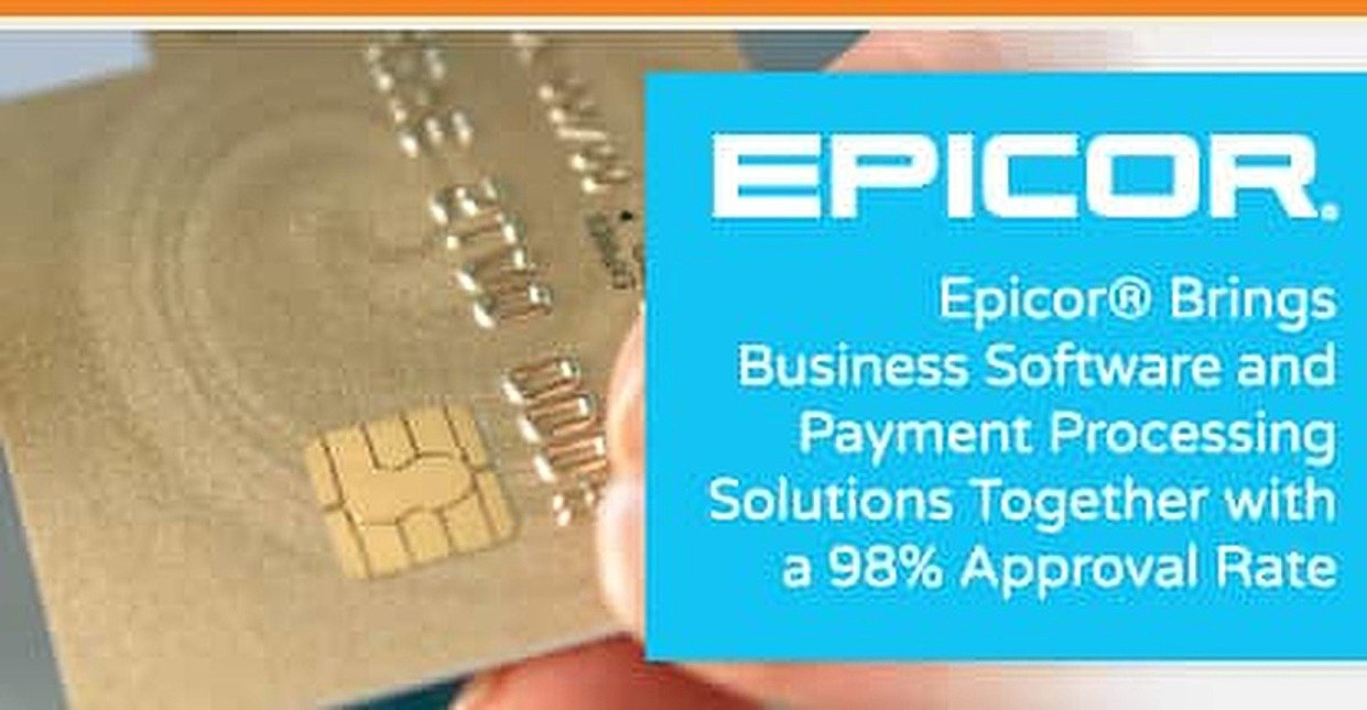 Epicor brings business software and payment processing solutions epicor brings business software and payment processing solutions together with a 98 approval rate colourmoves