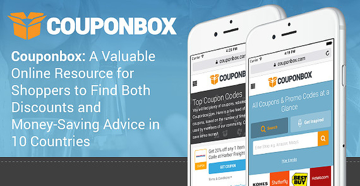 Couponbox: A Valuable Online Resource for Shoppers to Find Both Discounts and Money-Saving Advice in 10 Countries
