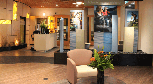 Photo of a BlueShore Financial Spa