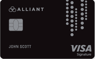 Image of the Alliant Credit Union Cashback Visa® Signature credit card
