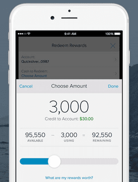 Screenshot of Capital One App