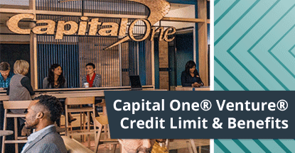 Capital One® Venture® Credit Limit & Benefits (Pre-Qualify Online)