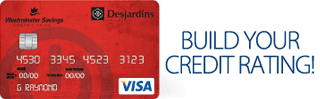 Screenshot of the Visa Desjardins Student credit card