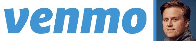Collage of the Venmo Logo and a Portrait of Josh Criscoe