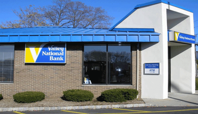 Image of a Valley National Bank branch location