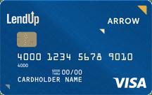 Image of a LendUp Arrow Card