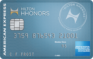 Photo of a Hilton Honors Card