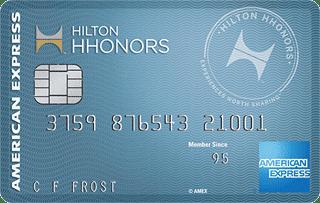 Photo of a Hilton Honors Card