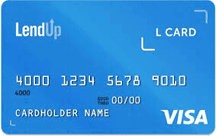 Image of a LendUp L Card