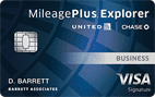 United MileagePlus® Explorer Business card