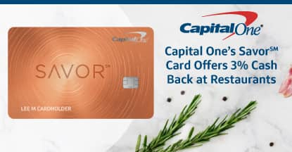 Capital One® Helps Consumers Savor the Dining-Out Experience with Unlimited 3% Cash Back on Restaurant Spending
