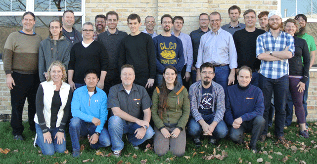 Photo of the CodeWeavers Team