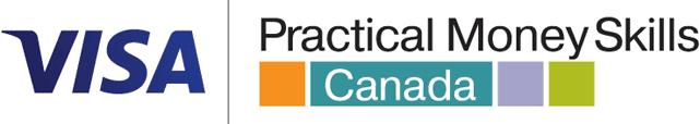 Visa Practical Money Skills Canada Logo