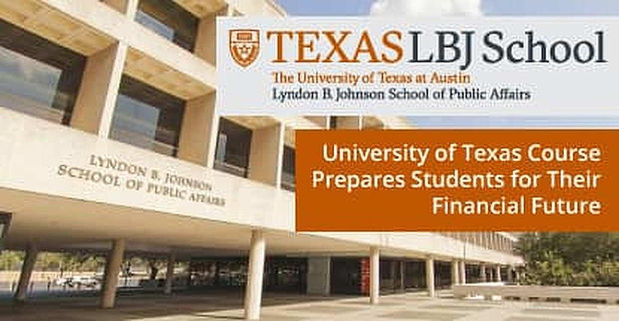 University of Texas Prepares Students for Their Financial Future Through Its Required Public Financial Management Course