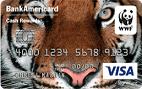 Bank of America World Wildlife Fund Visa