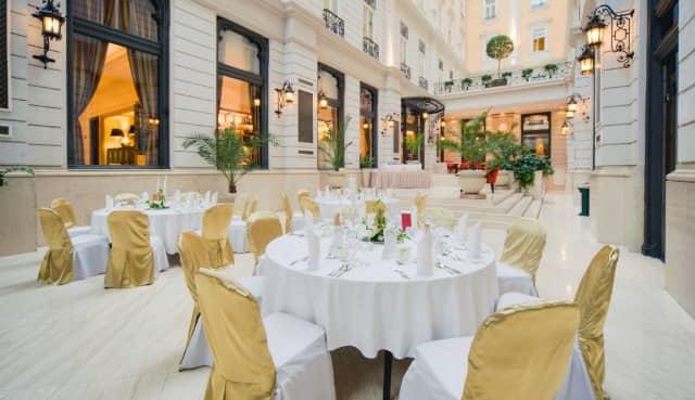 Photo of the Corinthia Hotel Budapest from GoToHungary.com
