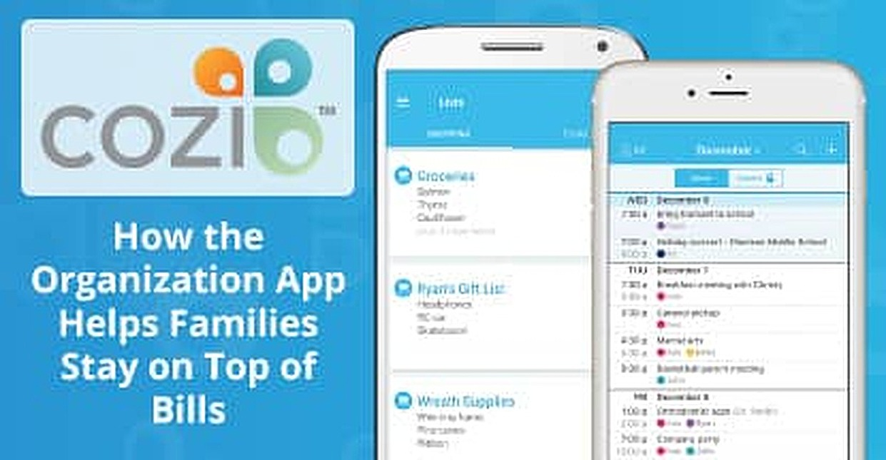 Cozi: How the Family Organization App Helps Millions of Households Keep Their Schedules Organized and Pay Their Bills On Time