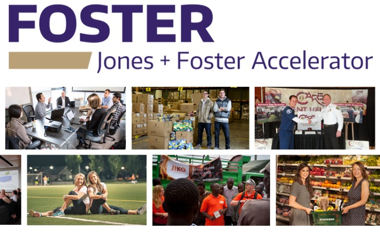 Collage of Jones + Foster Accelerator