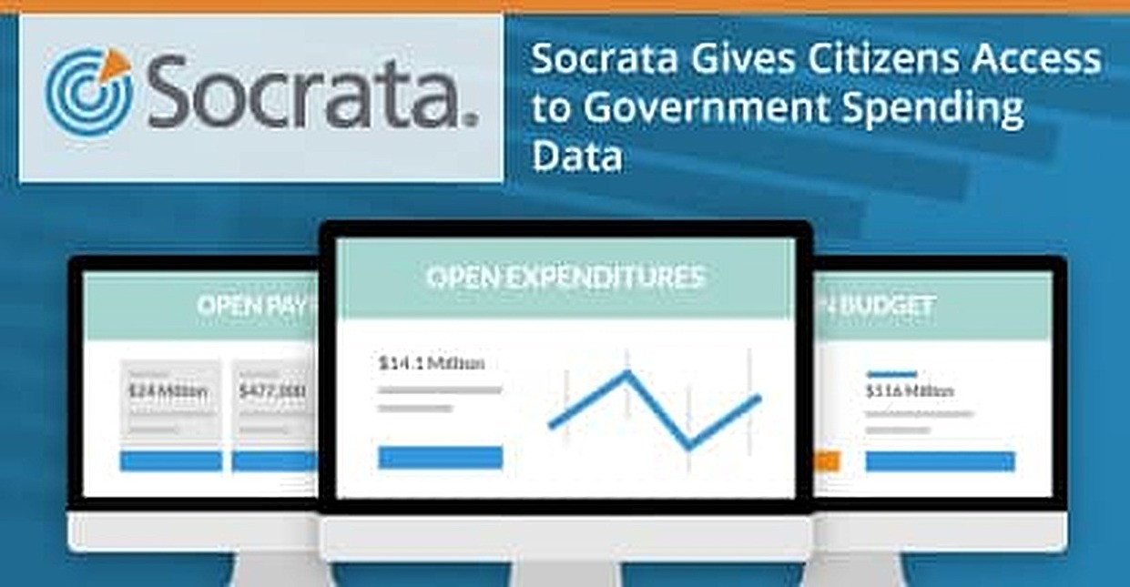 Socrata Open Finance Brings Transparency to Local Government Spending So Citizens Can See Where Their Tax Dollars Are Going