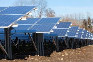 Photo of a Solar Farm Financed by PeoplesBank