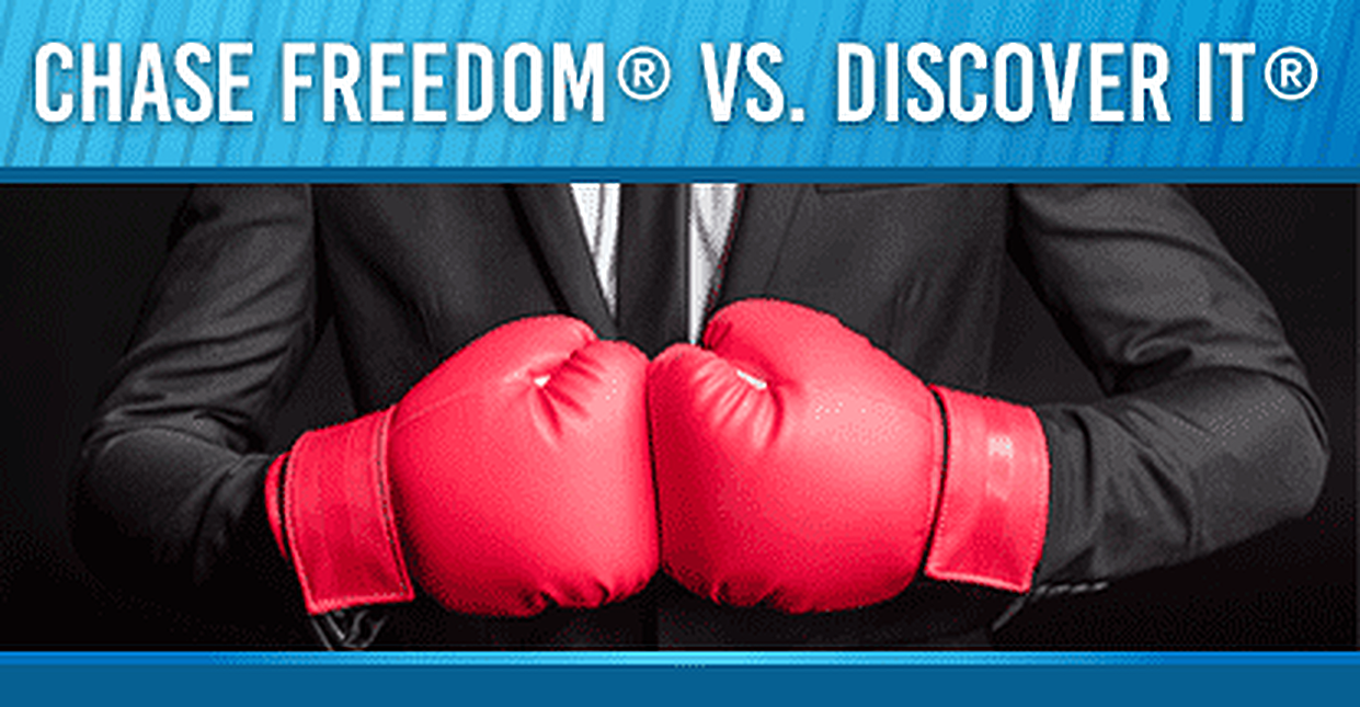 2019 Chase Freedom vs. Discover it® Credit Card