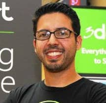 Headshot of Jimmy Rodriguez, Co-Founder and COO at 3dcart