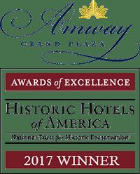 Amway Grand Plaza Logo