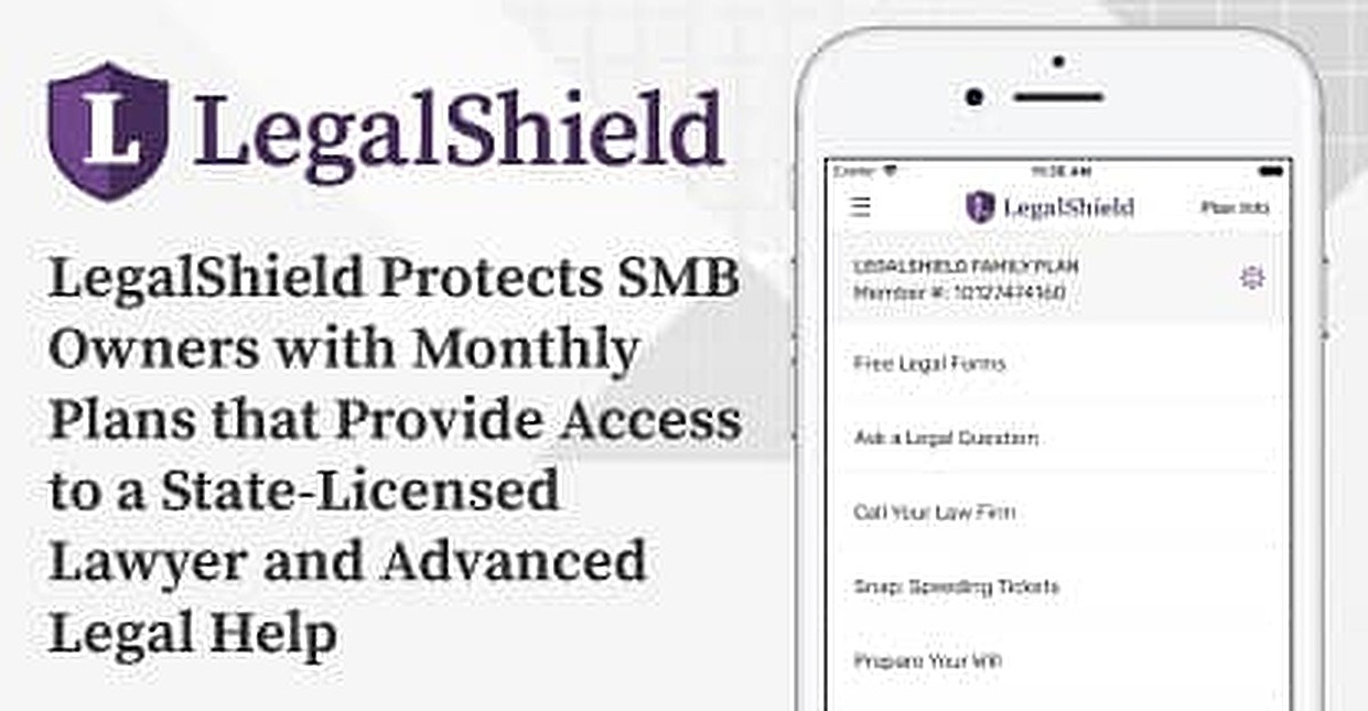 LegalShield Protects SMB Owners with Monthly Plans that Provide Access to a State-Licensed Lawyer and Legal Help