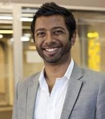 Headshot of Prashan Paramanathan CEO at Chuffed.org