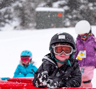 Photo of Children Tubing at Angel Fire Resort