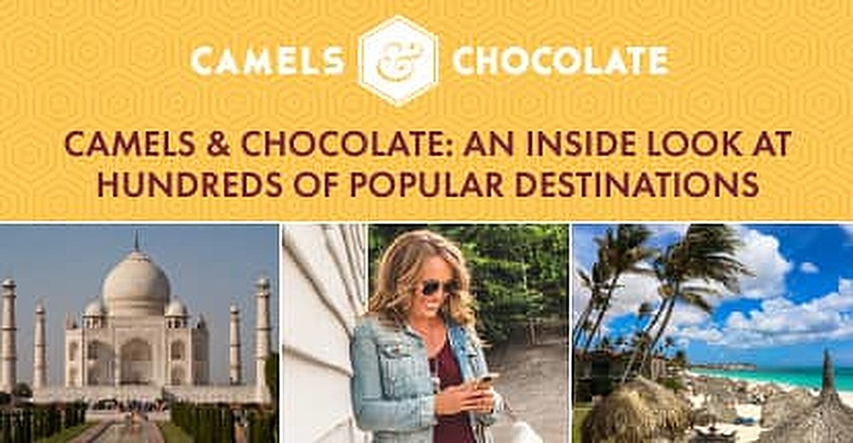 Make the Most of Your Next Rewards Trip — Camels & Chocolate Blogger Kristin Luna Gives an Inside Look at Hundreds of Popular Destinations Around the World